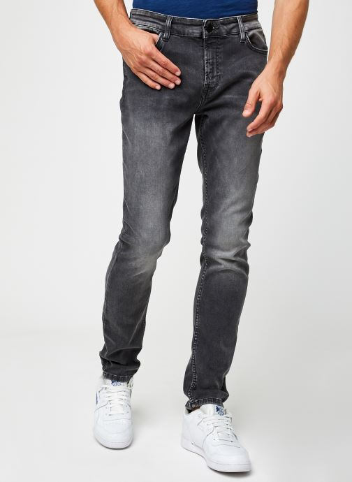 Vêtements Only & Sons Onsloom Slim Zip Gris vue détail/paire