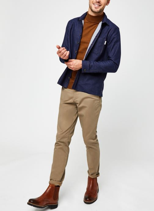 Vêtements Only & Sons Onsmikkel High Neck Knit Marron vue bas / vue portée sac
