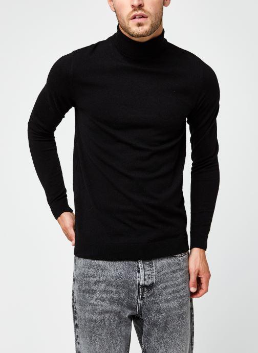 Vêtements Only & Sons Onsmikkel High Neck Knit Noir vue droite