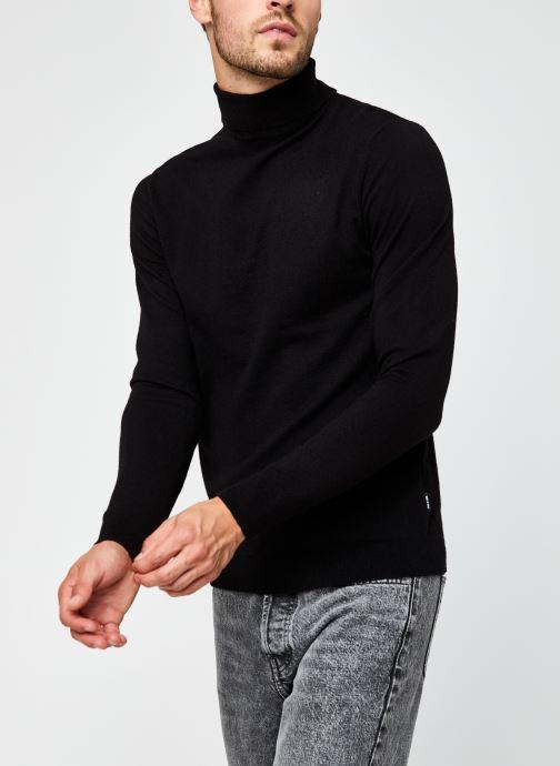 Vêtements Only & Sons Onsmikkel High Neck Knit Noir vue détail/paire