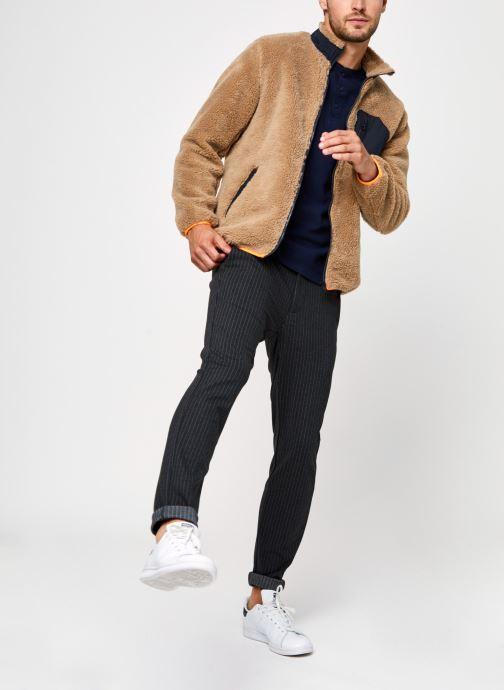 Vêtements Only & Sons Onsmark Pant Stripe Gris vue bas / vue portée sac