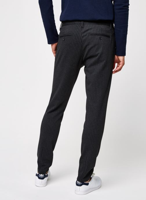 Vêtements Only & Sons Onsmark Pant Stripe Gris vue portées chaussures