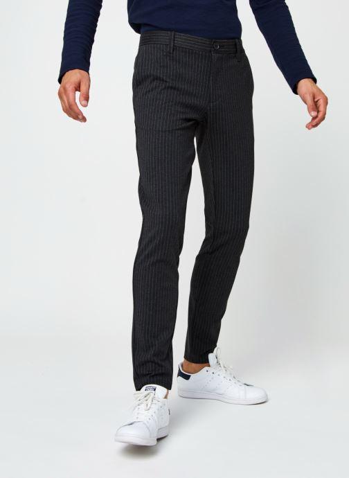 Vêtements Only & Sons Onsmark Pant Stripe Gris vue détail/paire