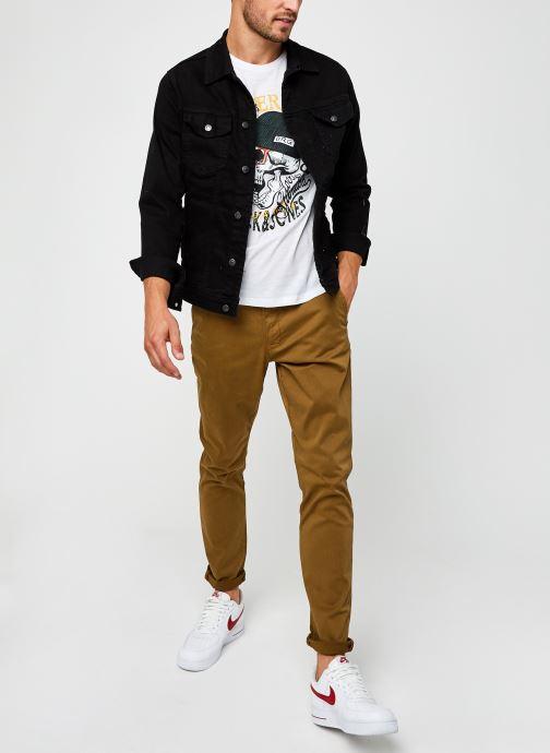 Vêtements Only & Sons Onswill Life Regular Chino Marron vue bas / vue portée sac