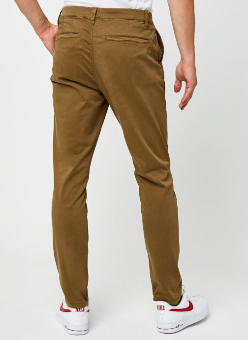 Vêtements Only & Sons Onswill Life Regular Chino Marron vue portées chaussures