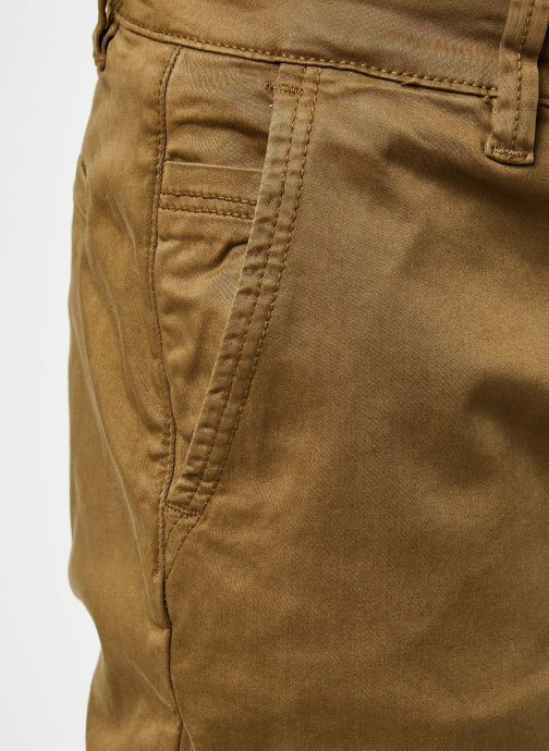 Vêtements Only & Sons Onswill Life Regular Chino Marron vue face