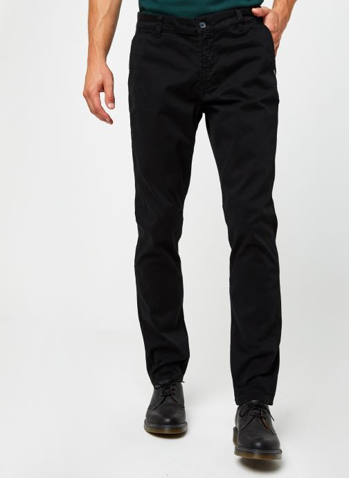 Vêtements Only & Sons Onswill Life Regular Chino Noir vue détail/paire