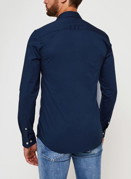 Vêtements Only & Sons Onsbart Life Organic Shirt Bleu vue portées chaussures
