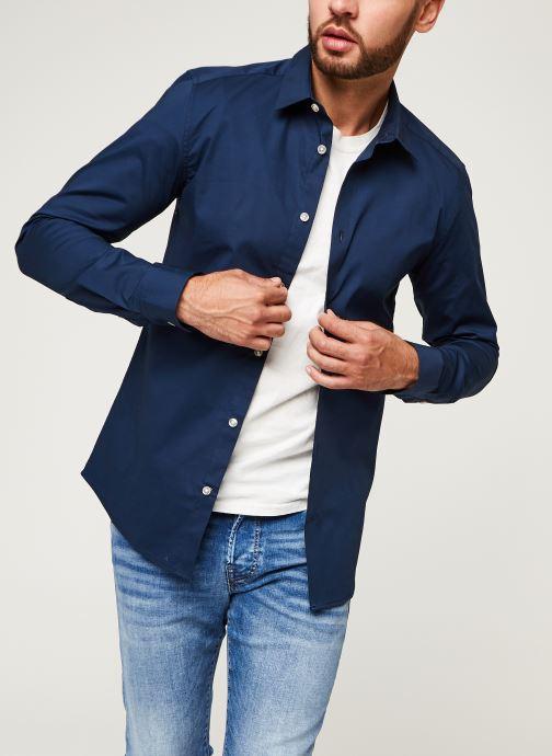 Vêtements Only & Sons Onsbart Life Organic Shirt Bleu vue détail/paire
