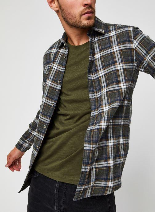 Kleding Only & Sons Onsbobby Shirt Groen detail