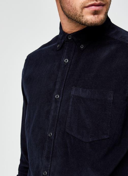 Vêtements Only & Sons Onsbennet Corduroy Shirt Bleu vue face