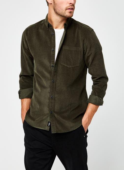 Kleding Only & Sons Onsbennet Corduroy Shirt Groen detail