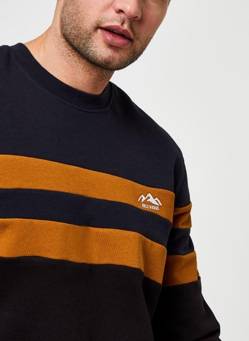 Vêtements Only & Sons Onsdamas Life Crew Neck Noir vue face