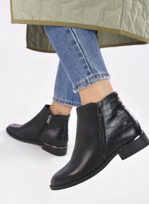 Bottines et boots Xti 44723 Noir vue bas / vue portée sac