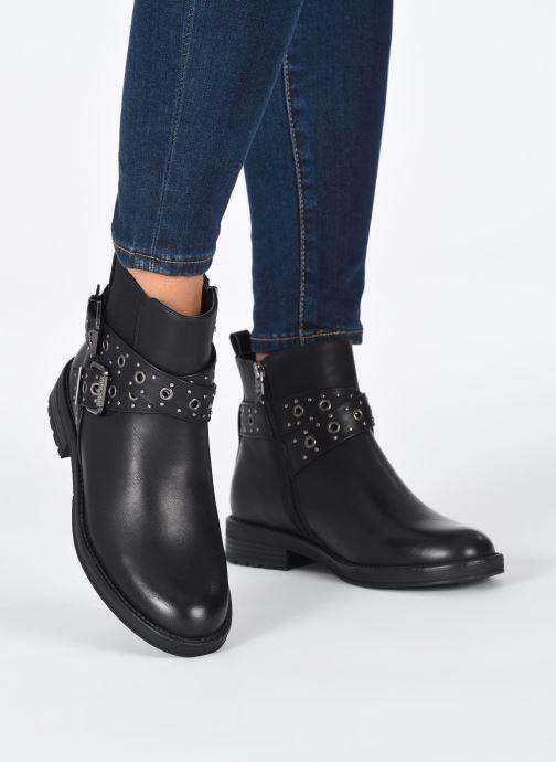 Stiefeletten & Boots Xti 44716 schwarz ansicht von unten / tasche getragen