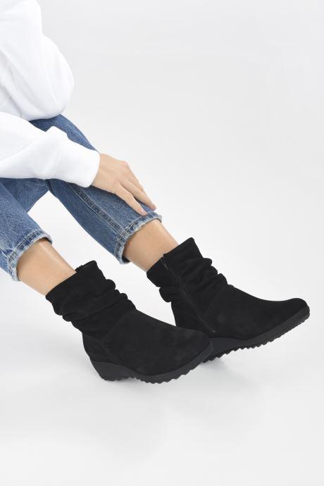 Bottines et boots Mephisto AGATHA Noir vue bas / vue portée sac