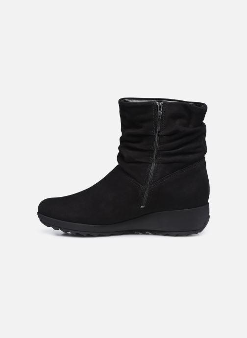 Bottines et boots Mephisto AGATHA Noir vue face