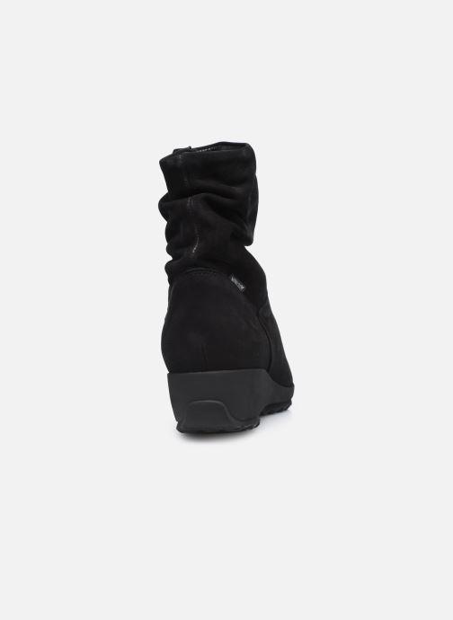 Bottines et boots Mephisto AGATHA Noir vue droite