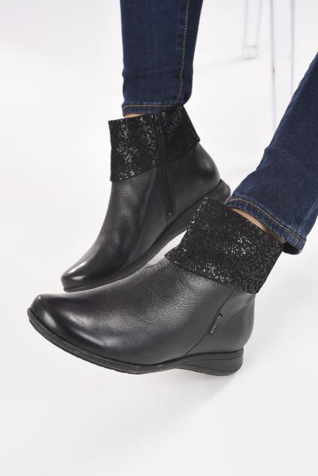 Bottines et boots Mephisto NERIA Noir vue bas / vue portée sac