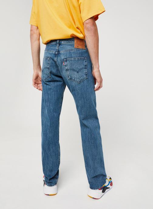 Vêtements Levi's 501® Levi'S®Original Fit M Bleu vue portées chaussures
