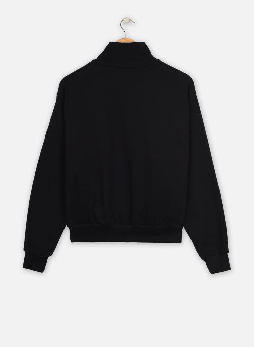 Vêtements Levi's Cb Logo Sweatshirt Noir vue portées chaussures