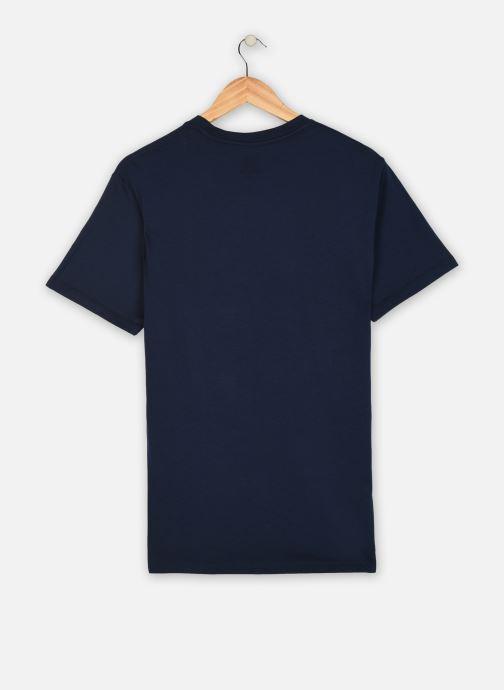 Vêtements Levi's GRAPHIC CREWNECK TEE 3 Bleu vue portées chaussures