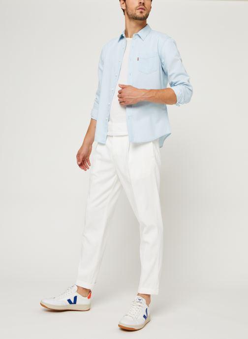 Vêtements Levi's Sunset 1 Pkt Slim Bleu vue bas / vue portée sac