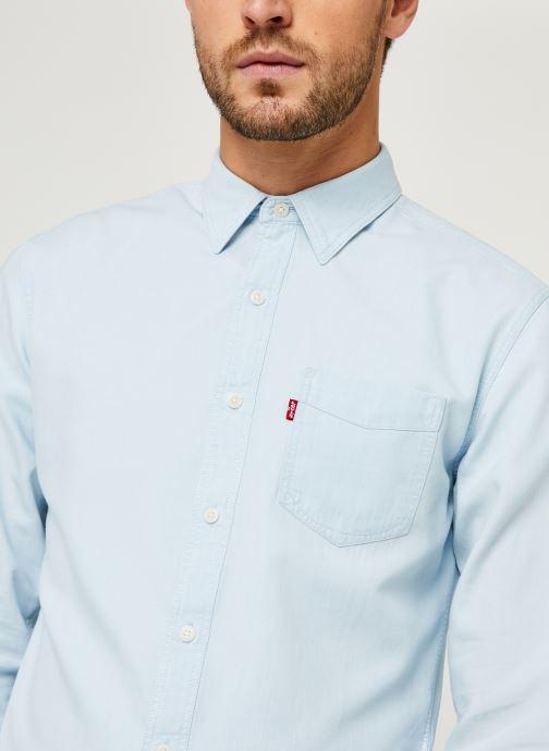 Vêtements Levi's Sunset 1 Pkt Slim Bleu vue face