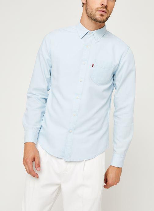 Vêtements Levi's Sunset 1 Pkt Slim Bleu vue droite