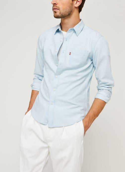 Vêtements Levi's Sunset 1 Pkt Slim Bleu vue détail/paire
