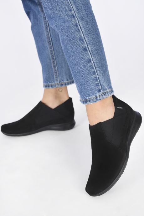 Bottines et boots Mephisto NELLIE C Noir vue bas / vue portée sac