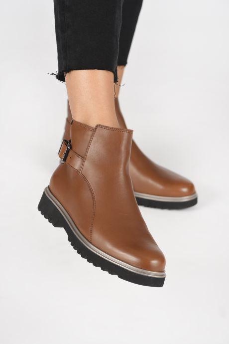 Stiefeletten & Boots Mephisto SAMANTHA C braun ansicht von unten / tasche getragen