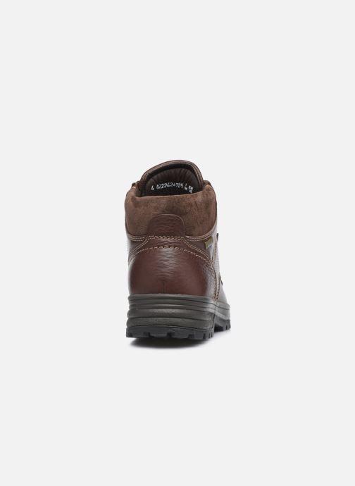 Zapatillas de deporte Mephisto JIM GT C Marrón vista lateral derecha