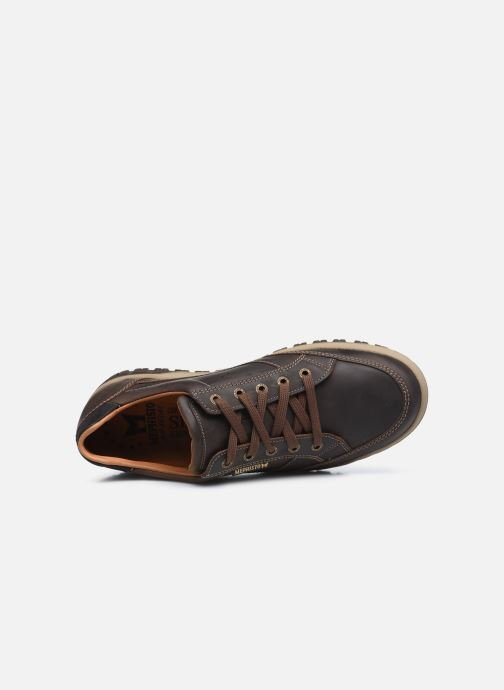 Sneakers Mephisto PACO C Marrone immagine sinistra