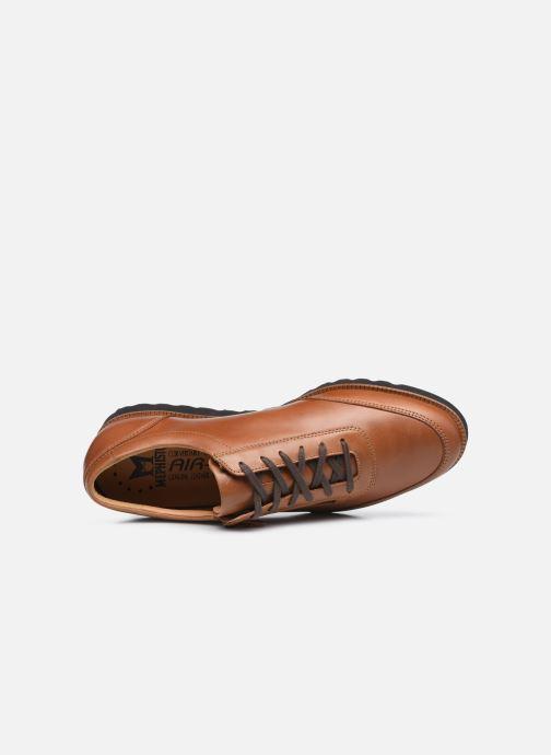 Scarpe con lacci Mephisto VALENTINO C Marrone immagine sinistra
