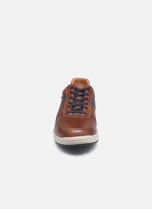 Baskets Mephisto VITO C Marron vue portées chaussures