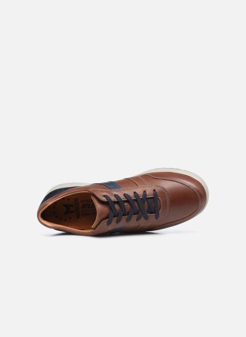 Sneakers Mephisto VITO C Marrone immagine sinistra