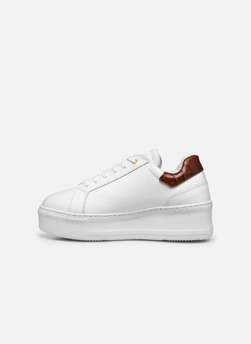 Sneaker Dune London ELDEN weiß ansicht von vorne