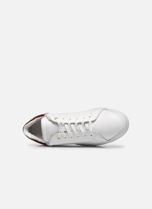 Sneaker Dune London ELDEN weiß ansicht von links