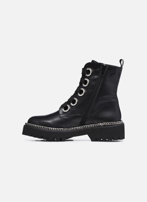 Bottines et boots Dune London PAVILLION Noir vue face