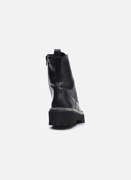Bottines et boots Dune London PAVILLION Noir vue droite