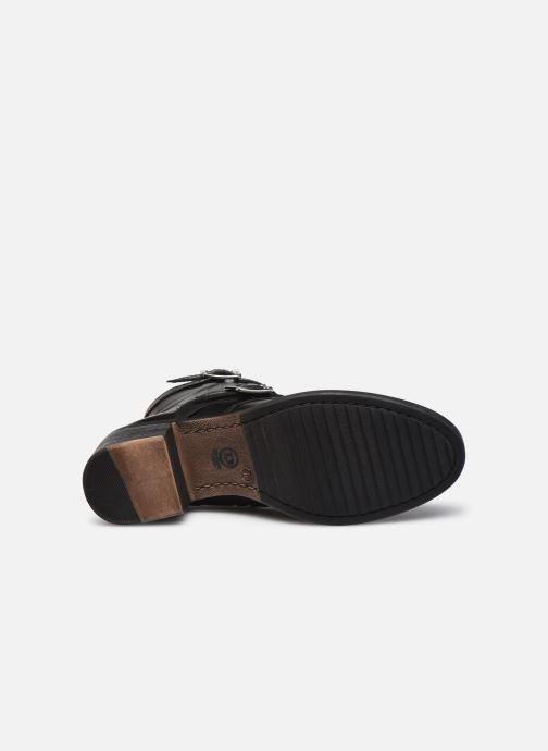 Bottines et boots Dune London PAXTONE Noir vue haut