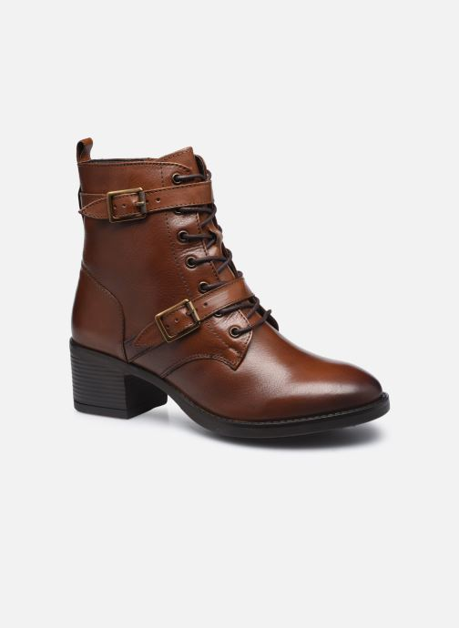 Bottines et boots Dune London PAXTONE Marron vue détail/paire