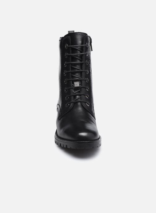 Bottines et boots Dune London PRESTONE Noir vue portées chaussures