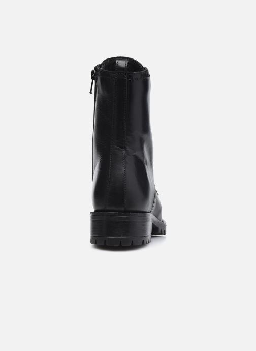 Bottines et boots Dune London PRESTONE Noir vue droite