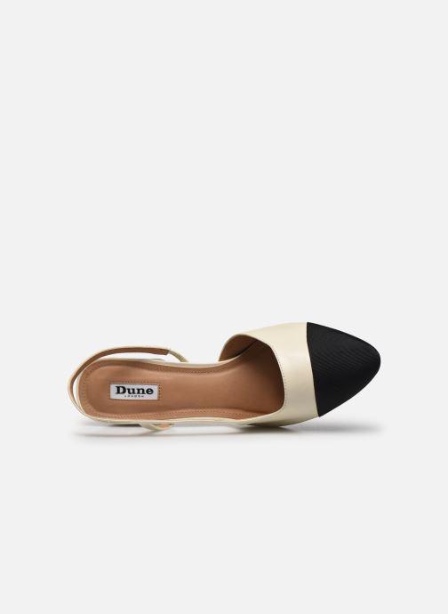 Zapatos de tacón Dune London CROFTS Blanco vista lateral izquierda