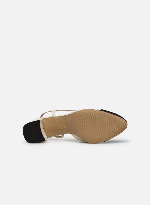 Zapatos de tacón Dune London CROFTS Blanco vista de arriba