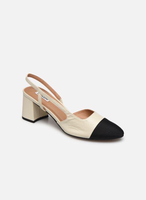 Zapatos de tacón Dune London CROFTS Blanco vista de detalle / par