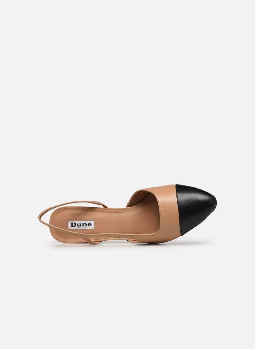 Zapatos de tacón Dune London CROFTS Marrón vista lateral izquierda