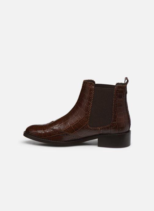Stiefeletten & Boots COSMOPARIS FLORENCIA braun ansicht von vorne